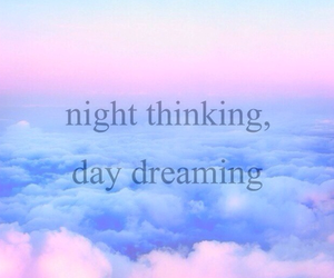 quote, day dreaming, and night image