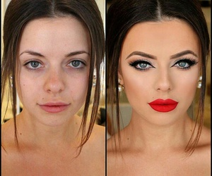 cosmetics, excellent, and make-up image