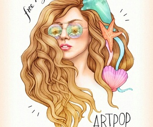 Lady gaga, artpop, and art image