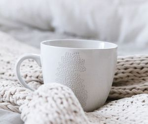 white, coffee, and cup image