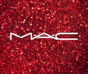 cosmetics, glitter, and mac image