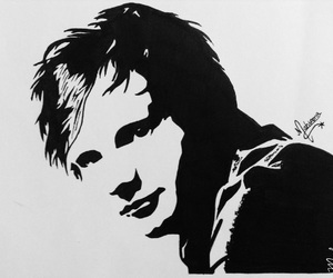 art, drawing, and ed sheeran image