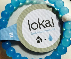 blue, bracelet, and water image