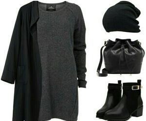 black, fashion, and mood image