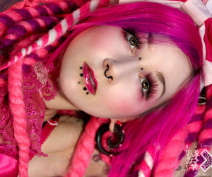 beaty, candy, and cyber image
