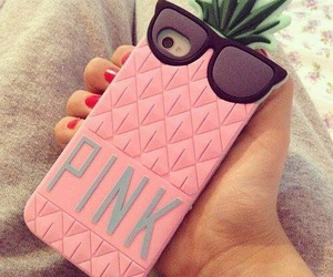case, pink, and we heart it image
