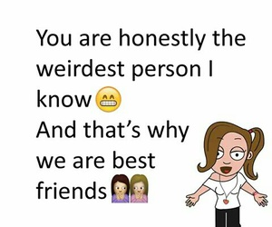 friendship, fun, and quote image