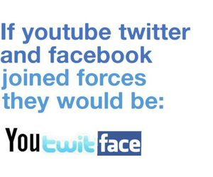 facebook, twitter, and youtube image