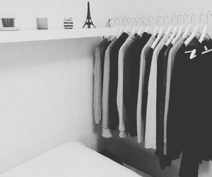 black and white, clothes, and ikea image