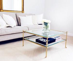 room, decor, and sofa image