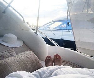 like, sailing, and luxe image