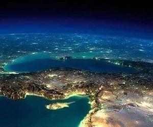 from sky and turkey+cyprus ısland image