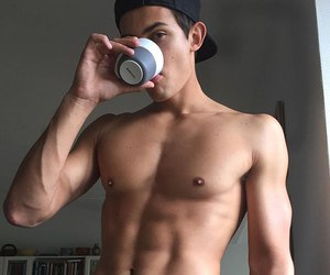 abs, boy, and guy image