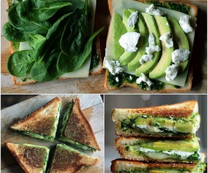avocado, dinner, and smoothie image