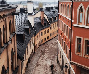sweden, building, and city image
