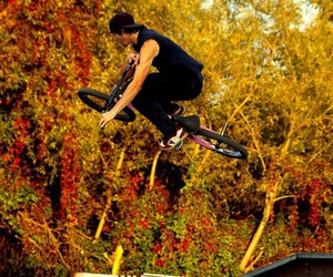 automne, ride, and bmx image