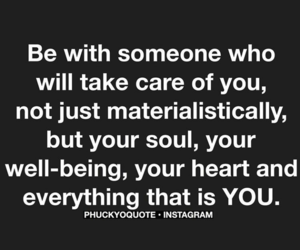 heart, quote, and someone image