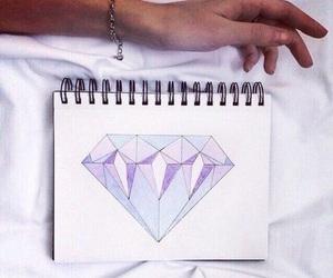 cool, diamonds, and draw image