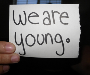 we are young image