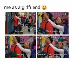 funny, girlfriend, and lol image