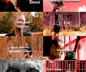 the walking dead, twd, and merle dixon image