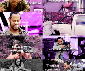 the walking dead, twd, and caesar martinez image