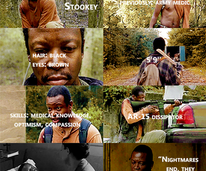 the walking dead and bob stookey image