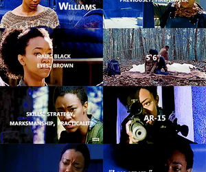 the walking dead, twd, and sasha williams image