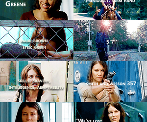 the walking dead, twd, and maggie greene image