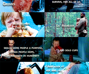 the walking dead, twd, and judith grimes image