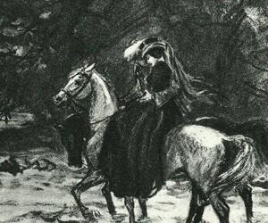 bela, horse, and lermontov image