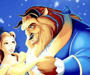 beauty and the beast, disney, and photography image
