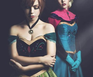 anna, cosplay, and disney image