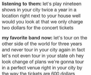 bands, true, and warped tour image
