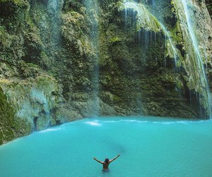 beautiful, happiness, and waterfalls image
