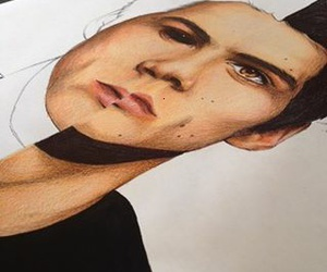 drawing, OH MY GOD, and teen wolf image