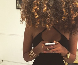 curls and curly image