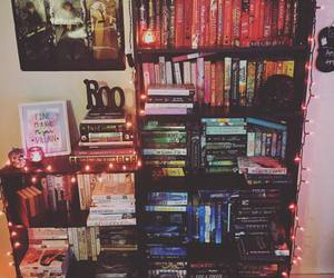 books, paradise, and bookshelf image