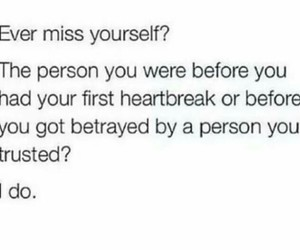 quote, you, and heartbreak image