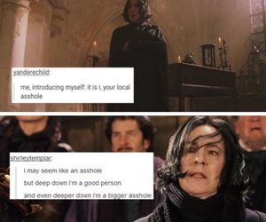 harry potter and snape image