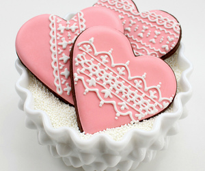 heart, pink, and sweet image