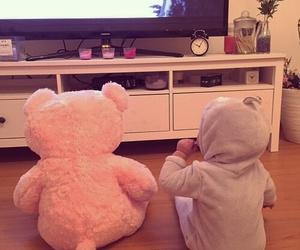 baby, bear, and kids image
