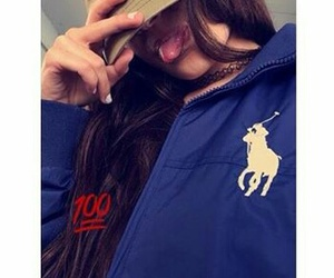 french girl, 💯, and ralph lauren casquette image