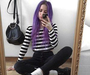 grunge, tumblr, and hair image