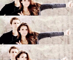 tvd, elena gilbert, and stelena image