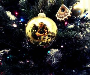 christmas, gold, and photography image