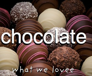 chocolate and what we love image