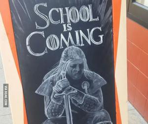 funny, game of thrones, and school image