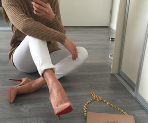 clothes, louboutins, and fashion image