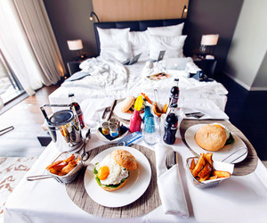 food, breakfast, and hotel image